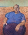 Bob Baird, Les Murray – Oil on Belgian Linen, Image size 152.5x122