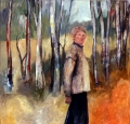 "Shirley  Cameron-Roberts, ""Part of the Landscape - Self Portrait at Eccleston"""
