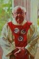 Irene  Crusca, Father Bob, 2009, 137 x 121cm Oil on linen