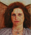 Irene  Crusca, Sister Salva, 2009, 37 x 33cm Oil on Board