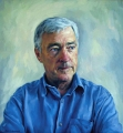 PETER ANDREN MP oil on linen canvas (lifesize)