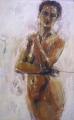 Julie Hutchings, 1xx80  oil/canvas
