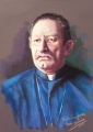 Father Ron pastel 58x45