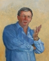Jeanette  Korduba , Mr Brad Hazzard MP, member for Wakehurst-92cm-x77cm-oil-o