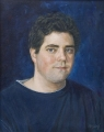 """Adriel"", oil 52x42cm, royal qld show champion 2008"