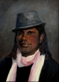 Shelley_L.  'Elijah'  Oil on Canvas  50cmHx40cmW