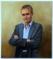 Shelley_L. 'Wyatt Roy M.P.'  oil on linen 100cmHx92cmW