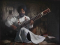 Ryan Sally - Dr Rashpal Singh, Oil on board, 124cm x 94cm.Finalist Shirley Hannan 2012-sm