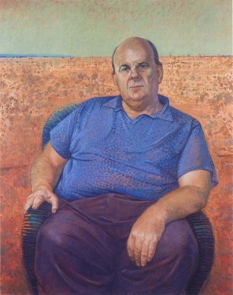 "Artist- Bob Baird ""Les Murray"" - Australian poet"