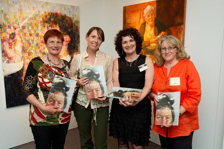 The Book Team - designers and editors - L-R Sally Robinson, Kathrin Longhurst, Janis Lander, Stephanie Brown.
