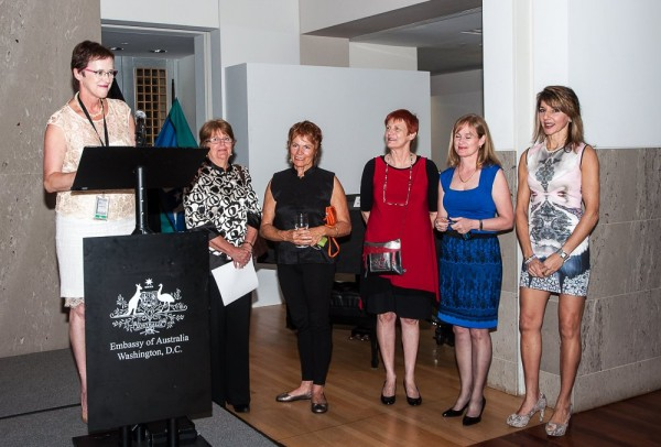PAA Artists at The Embassy of Australia Washington DC 2014