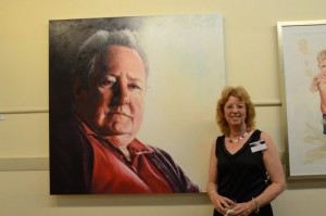Raelene Sharp at PAA opening in Melbourne 2011