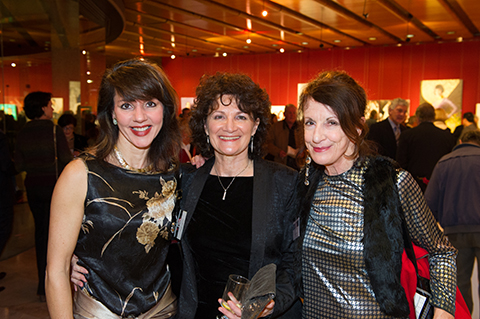 Committee members at the PAA opening NSW Parliament House 2013 - Nafisa, Janis Lander, Louise Beck.
