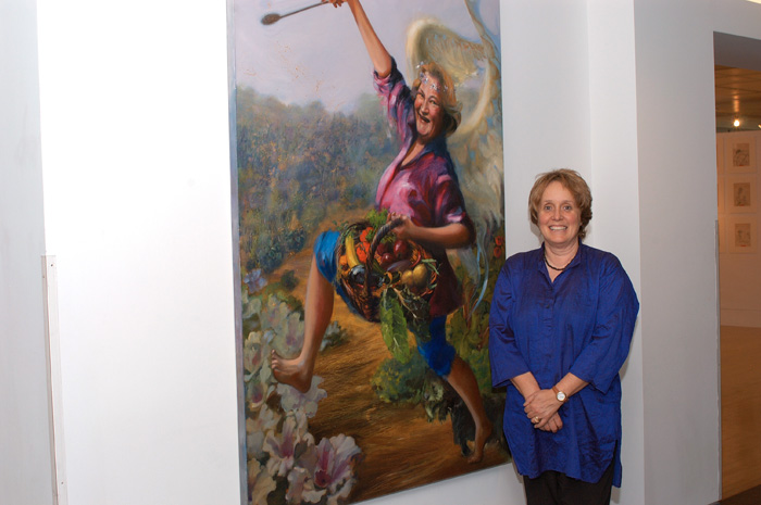 Kerry McInnis 2005 opening PAA exhibition at the Embassy of Australia Washington DC