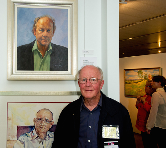 Bryan Besley in PAA Canberra Parliament House exhibition 2012.