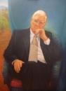 Bob Baird, Professor Reginald Lord – Oil on Belgian linen Image size 1.22x92