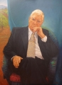 Bob Baird, Professor Reginald Lord – Oil on Belgian linen Image size 1.22x92
