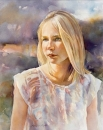One-summer-afternoon_Belinda Blight_ watercolour 48x38cm