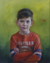 Hugh, Beeswax & oil on canvas, 76cm x65cm