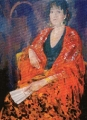 """Judy  Brownlie, """"Maria"""" , 2000 , Oil on canvas , 3ft6in x 4ft"""