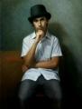 Sebastian, Oil on canvas, 80cm x 60cm