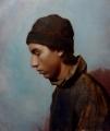 Sebastian III, Oil on linen, 54cm x 45cm