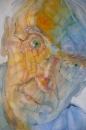 Peteris Ciemitis. making sense of place 4. watercolour on paper. 2007. 75cmx55cm