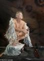 The Red Shoe - portrait of Simon Burke