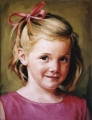 PRETTY IN PINK oil on linen canvas