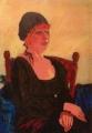 "Laura Hopkins, ""Margaret"" , Oil on canvas , 59cm x 89cm"