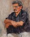 Jeanette  Korduba , George Largent FRAS, oil on canvas 77cmx62cm, 2007-2000