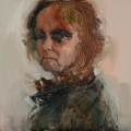 Self Portrait Sketch_oil_60x60cm