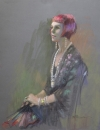 Not Miss Fisher: 500 x 650 Pastel
