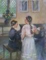 Music at Montsalvat: 400 x 500 Pastel.