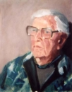 "Lynette Mitchell, ""Rod"" , 2001 , Oil , 15"" x 18"""
