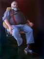 Kevin  Oxley, Mayor Bob Abbot, oil on canvas, 3ftx4f, 2008