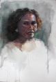 Shelley_L  'Hannah'  Watercolour  size A3 Arches paper