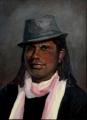 Shelley_L.  'Elijah'  Oil on Canvas  50cmHx40cmW