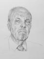 Sydney Charles James Sheppard, 51cm x 41cm, graphite, artist Wendy Jane Sheppard