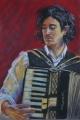Kathy Smoker. 'Bruno Dampney' (2014), pastel. 55x37cm