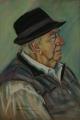 Kathy Smoker. 'Fred Egan' (2012), pastel.  55x37cm