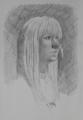 Blonde portrait      Pencil     A3