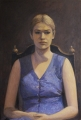 Portrait of Amy      oil on wood panel     85 cm x 57.5