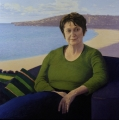 Susan Ryan     Oil on linen     96.5 cm x 96.5 cm