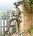 Sir Roden Cutler. Medium Bronze. Size is 2.1 metre