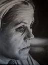 Self-Portrait Watching the Slow Dissolve